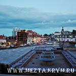 центральная площадь Советская Алушта